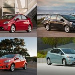 Toyota's Prius Family Tops California New Vehicle Registrations for 2012