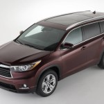 2014 Toyota Highlander World Debut At 2013 New York Auto Show