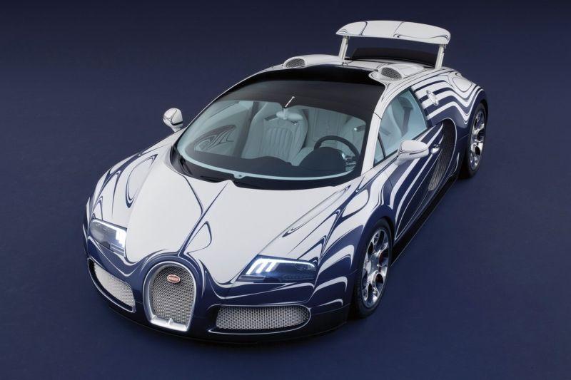 Bugatti Veyron in Fine Porcelain