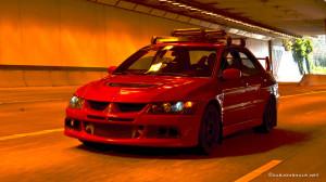 HD Car Wallpapers - Mitsubishi Evo VIII - Car Journals
