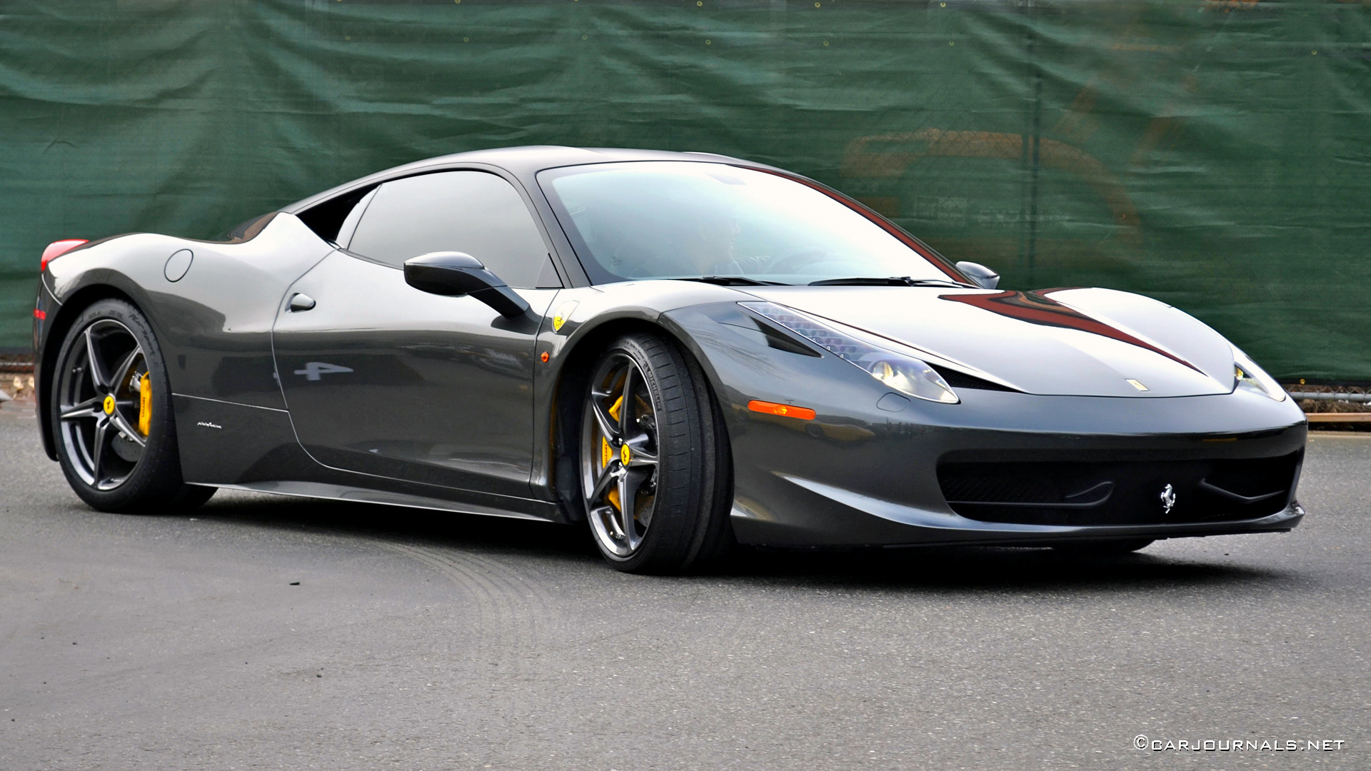 HD Wallpapers   Ferrari 458 Italia   Car Journals