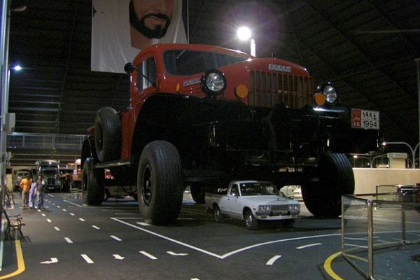Dodge power wagon replica