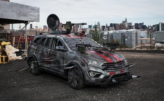 Hyundai Santa Fe Zombie Survival Machine