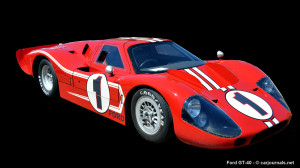 HD Car Wallpapers – Ford GT40 - Car Journals