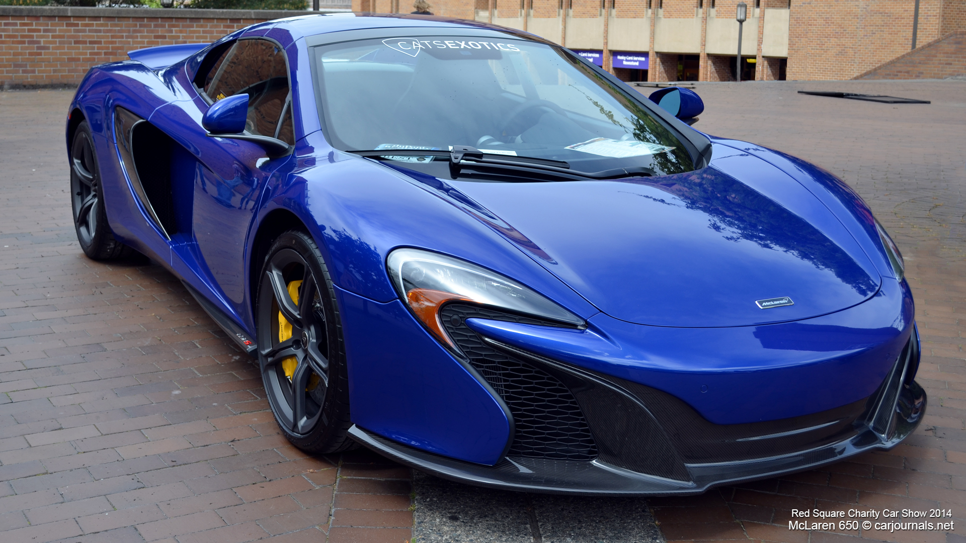 McLaren 650 at Red Square Charity Car Show 2014