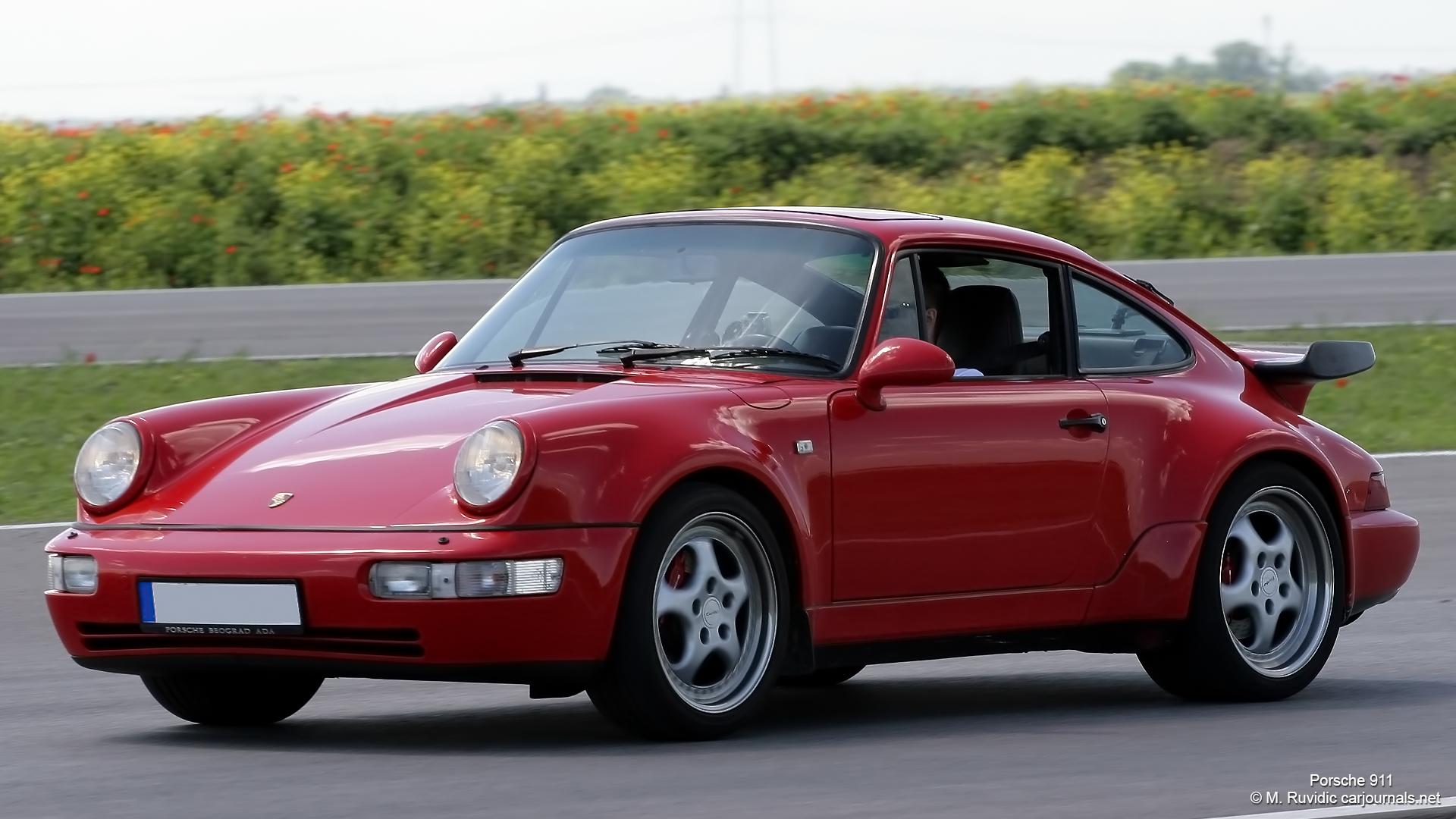 hd car wallpapers – red porsche 911 – car journals