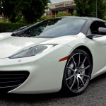 HD Car Wallpapers – White McLaren MP4-12C