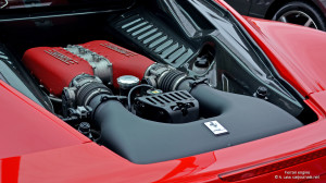 HD Car Wallpapers – Ferrari Engine