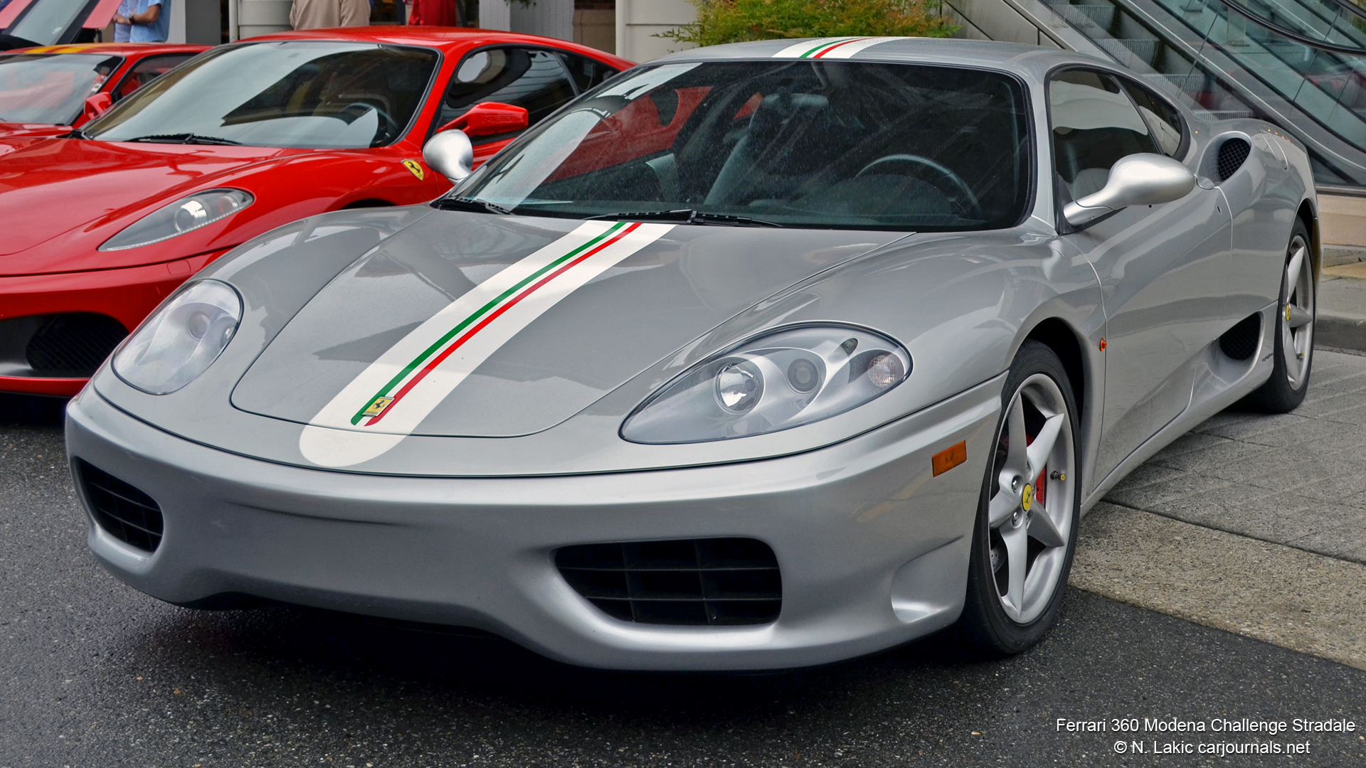 HD Car Wallpaper - Ferrari 360 Modena Challenge Stradale - Car Journals