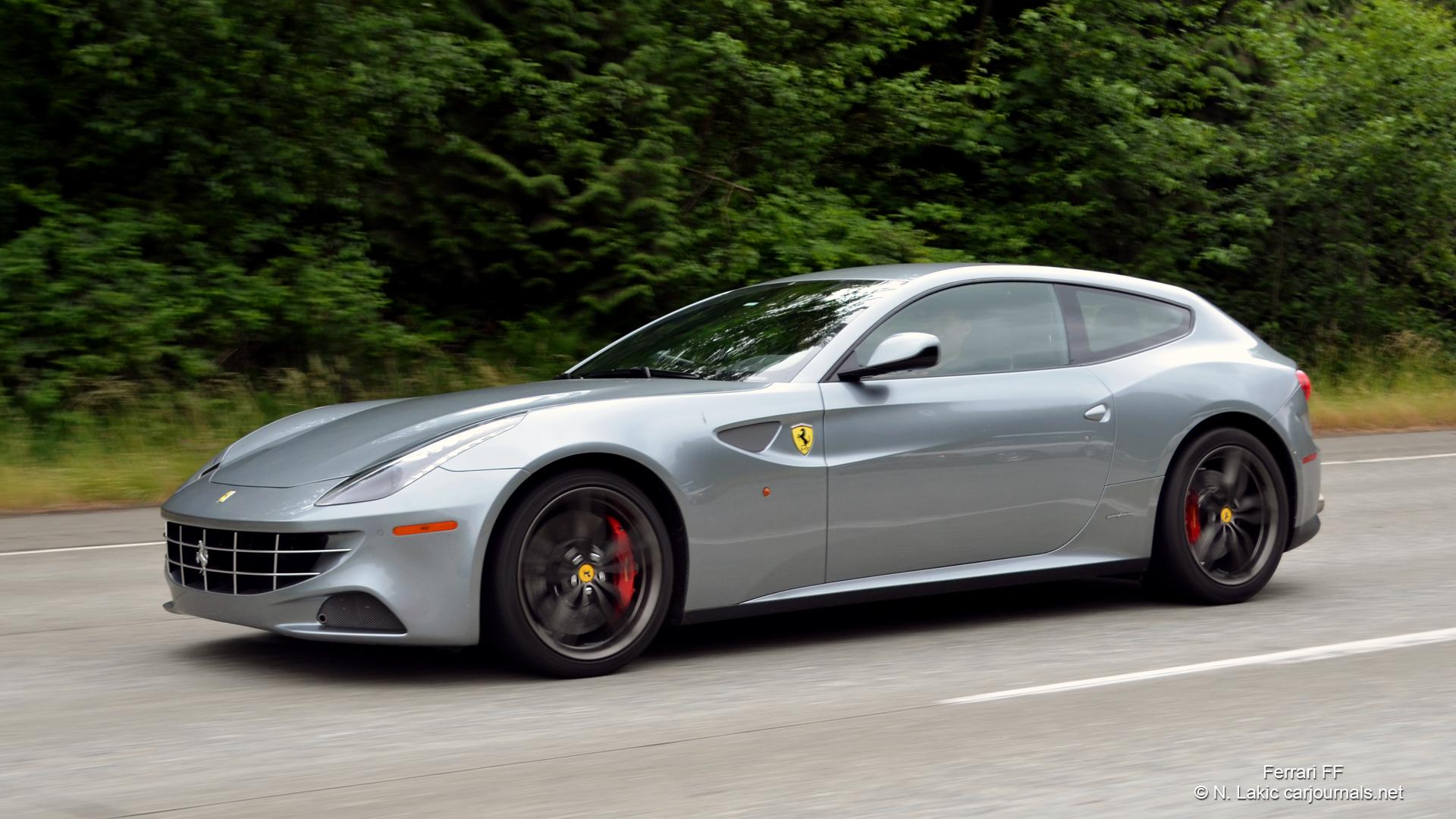 HD Car Wallpapers - Gray Ferrari FF - Car Journals