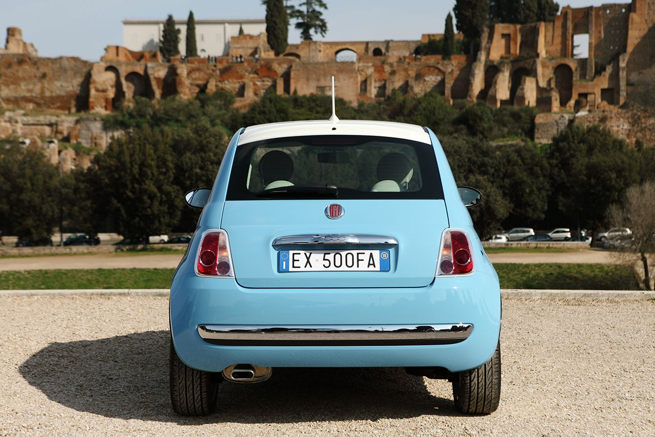 Fiat 500 Vintage '57 - Rear view