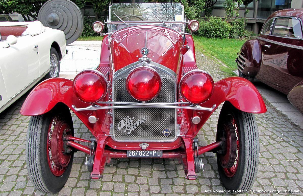 Alfa Romeo 6C 1750 - Car journals