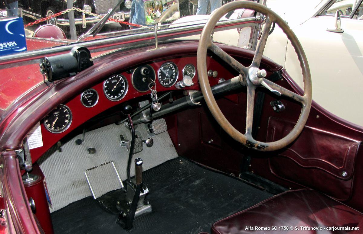 Alfa Romeo 6C 1750 Interior - Car journals