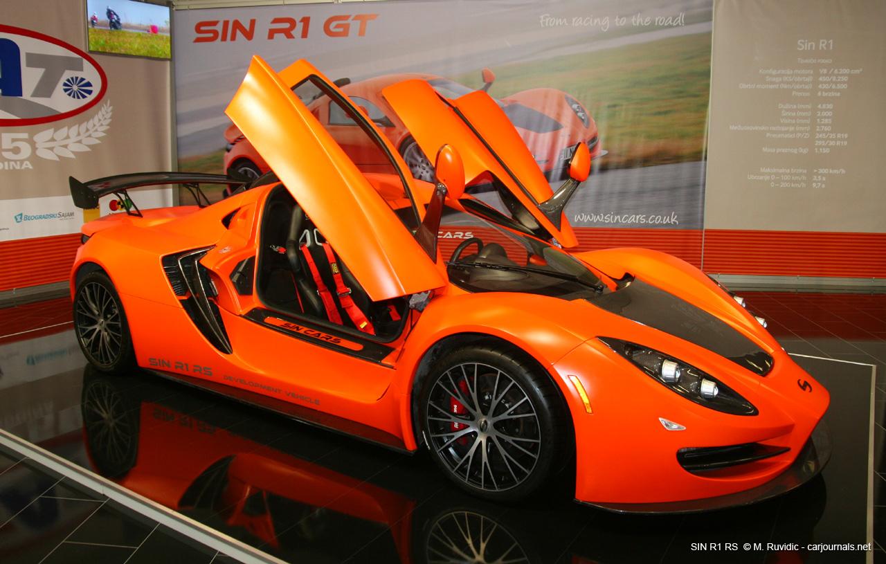 SIN R1 RS at Belgrade Car Show 2015 - Car Journals