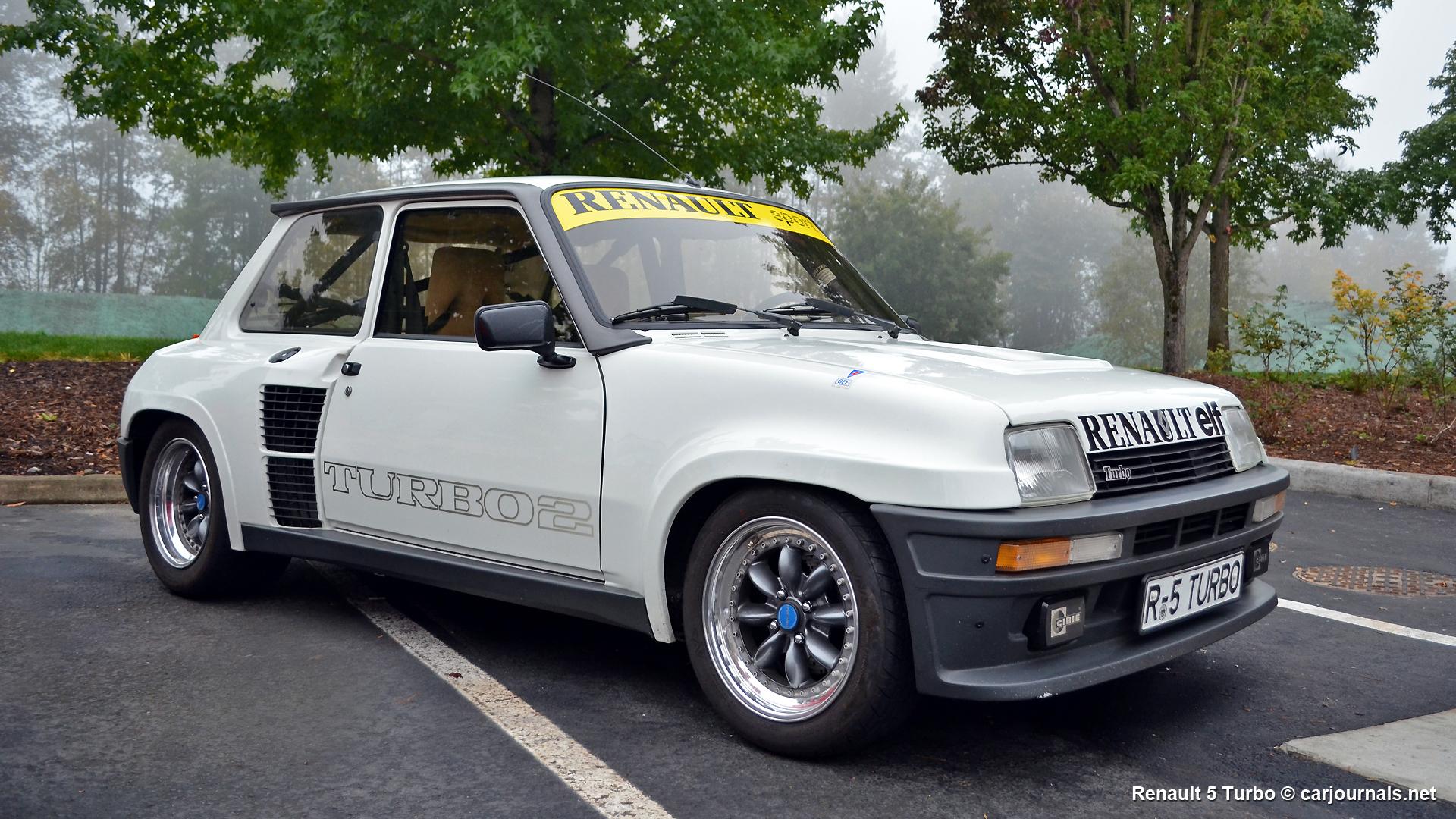 Hd Car Wallpaper Renault 5 Turbo Car Journals