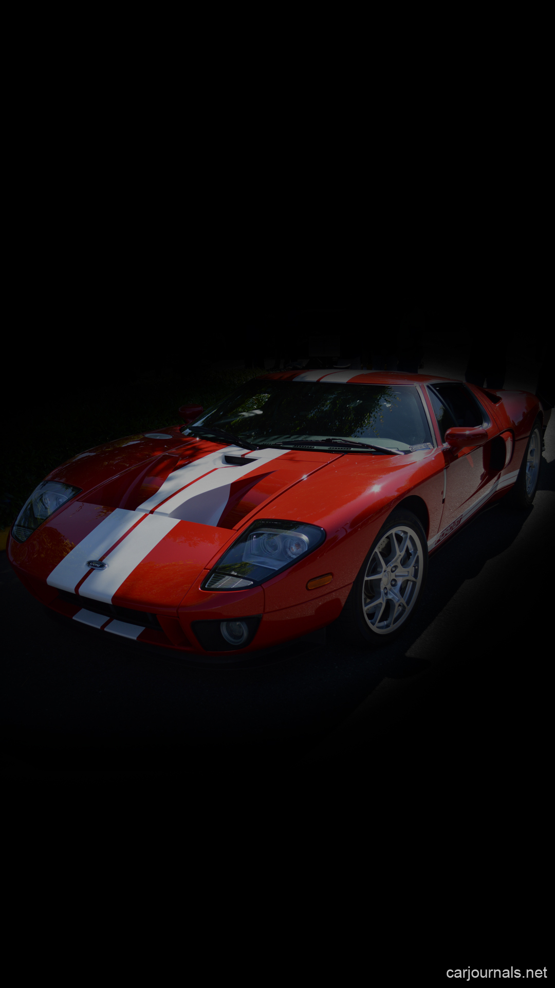 Ford GT40 iPhone Wallpaper  - Car journals