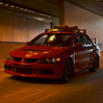 Mitsubishi Evo VIII iPhone Wallpaper