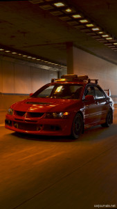 Mitsubishi Evo VIII iPhone Wallpaper - Car journals