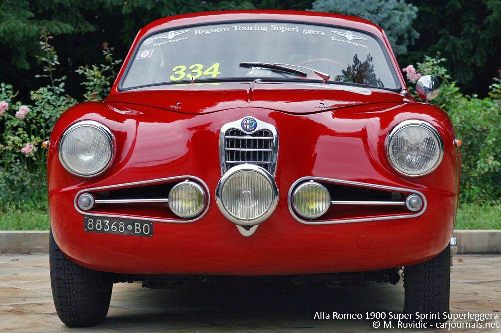 Alfa Romeo 1900 Super Sprint Superleggera Car Journals