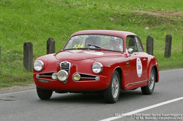 Alfa Romeo 1900 Super Sprint Superleggera - Car Journals