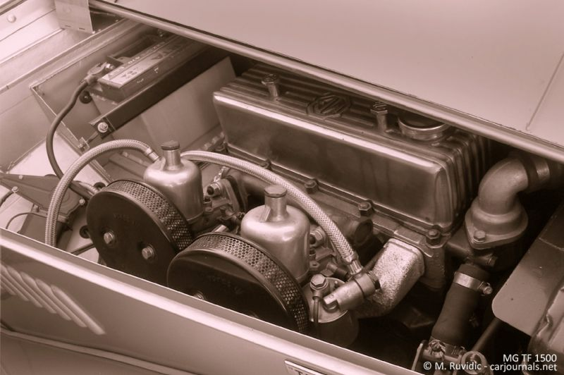 MG TF 1500 engine - Car Journals