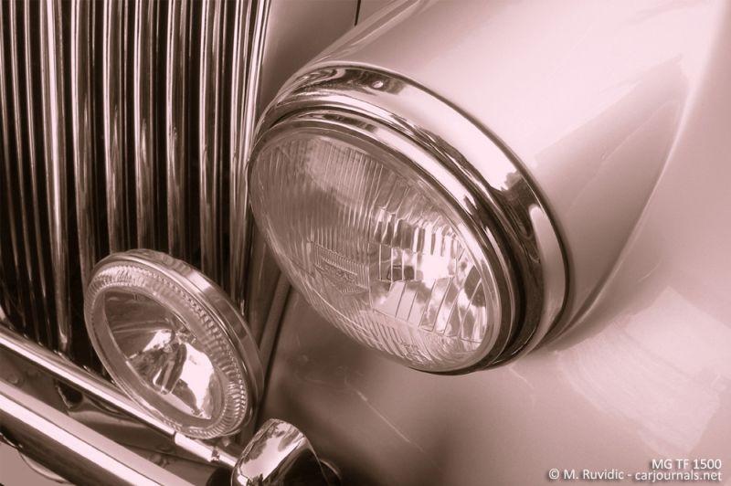 MG TF 1500 Headlight - Car Journals
