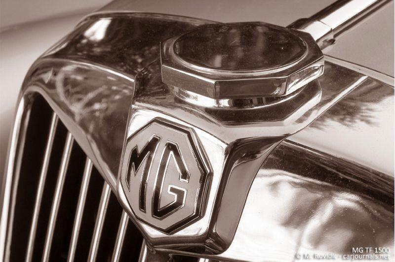 MG TF 1500 logo - Car Journals