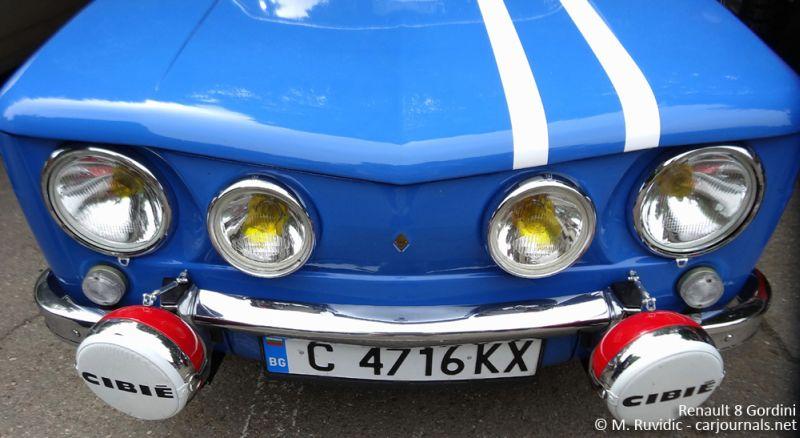 Renault 8 Gordini - Car Journals