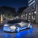 Mercedes-Benz Unveils Vision Tokyo Self-driving Concept Car