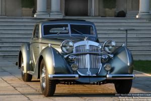 1937 Horch 853 Stromlinien Coupe Manuela von Bernd Rosemeyer - Car Journals
