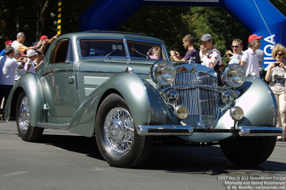 1937 Horch 853 Stromlinien Coupe Manuela von Bernd Rosemeyer - Car Journals