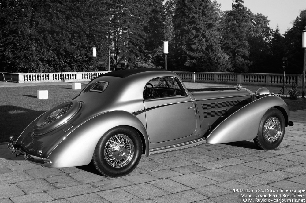 1937 Horch 853 Stromlinien Coupe Manuela von Bernd Rosemeyer - Side view