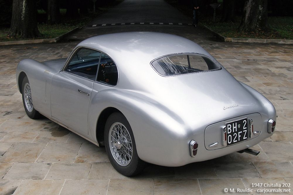 1947 Cisitalia 202 - Car Journals