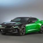 Gen Six Camaro Concepts At SEMA Show