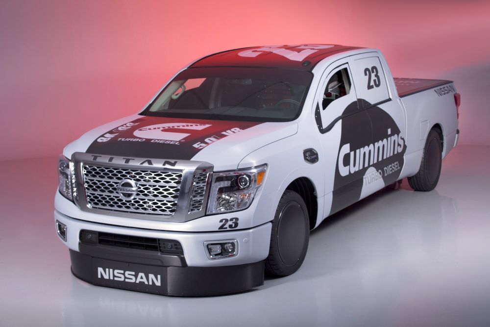 "2016 Nissan TITAN XD ""Triple Nickel"""