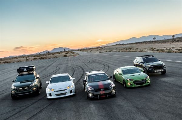 2015 SEMA Hyundai Line Up