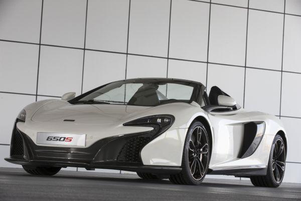 McLaren 650S Spider Al Sahara