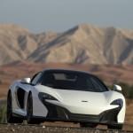 McLaren Unveils 650S Spider Al Sahara 79 by MSO At Dubai Motor Show