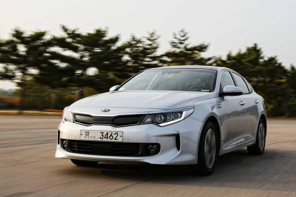 All-new Optima Hybrid