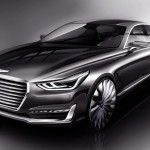 New luxury takes shape – Hyundai Motor unveils rendering of new G90
