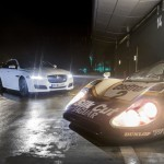 New Jaguar XJR Meets XJR9-LM at Silverstone with Le Mans Winner Andy Wallace at the Wheel