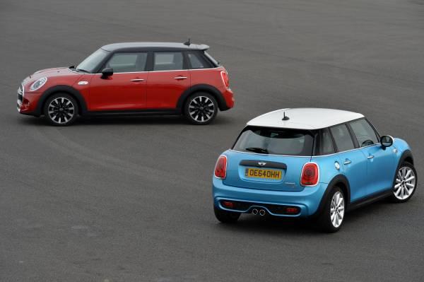MINI Cooper S 5 door and MINI Cooper SD 5 door