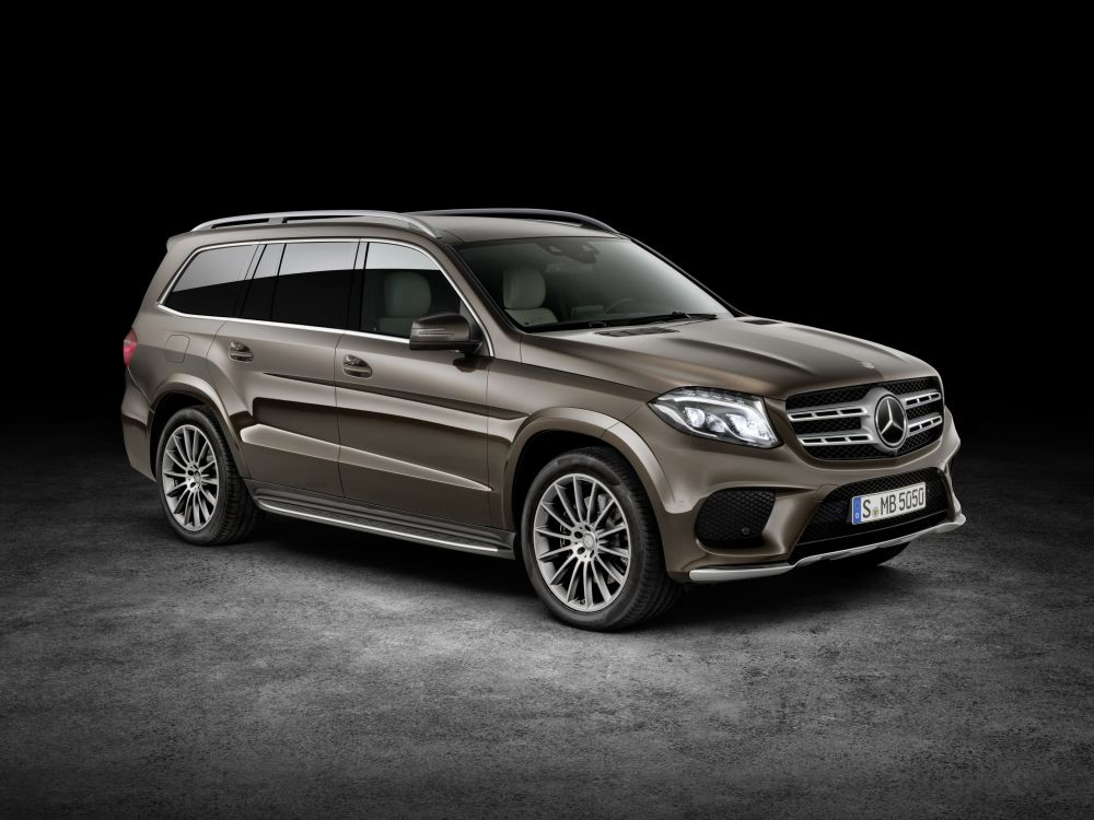 Mercedes-Benz GLS 500 4MATIC, citrine Brown, AMG line