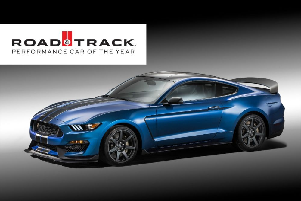 Ford Shelby GT350R Mustang Award