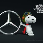 Beagle on Board: Snoopy now drives V-Class