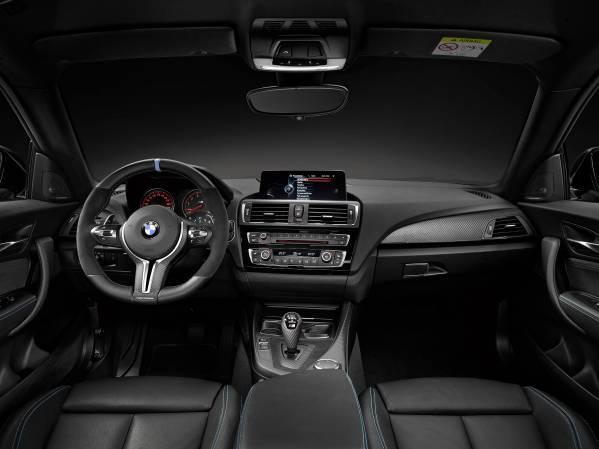 BMW M2 Coupé with BMW M Performance Parts interior © BMW