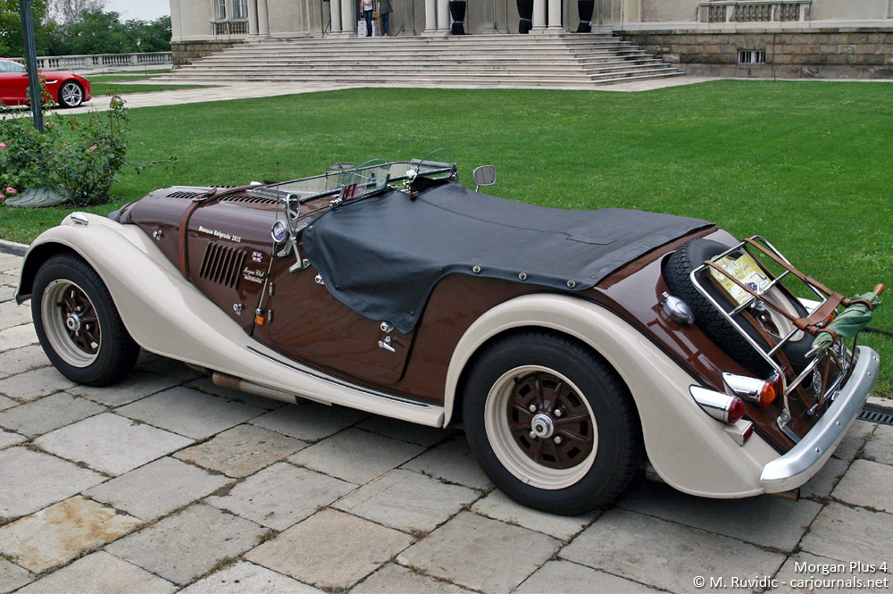 Morgan Plus 4 - Car Journals
