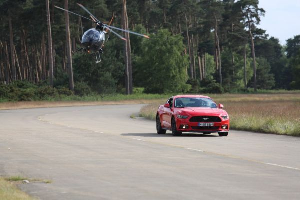 Ford Mustang Stunt Driver Film