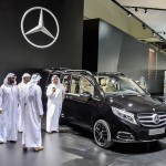 The success story continues: V-Class now also in Japan and Middle East