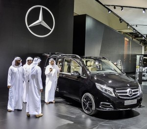 V-Class now also in Japan and Middle East